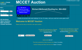 MCCET Auction